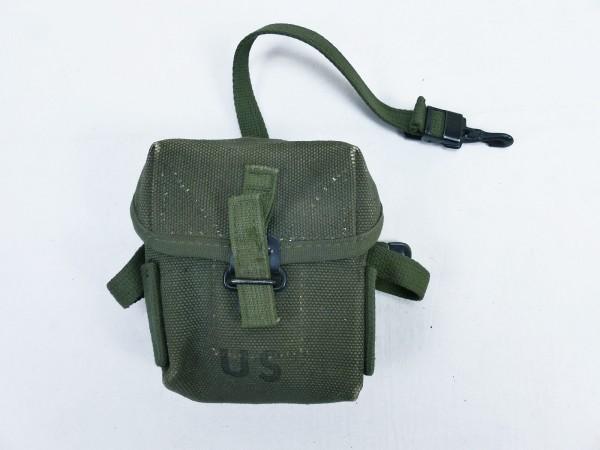 "#B US ARMY Vietnam Case small arms Ammunition pouch Magazine pouch ""short"" M16 M16A1 Rifle"