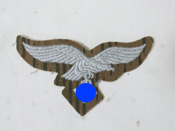 Breast Eagle Luftwaffe Bone Bag Swamp Camouflage embroidered