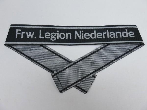 Wehrmacht Elite BEVO Sleeve Band Volunteer Legion NIEDERLANDE Sleeve Stripes