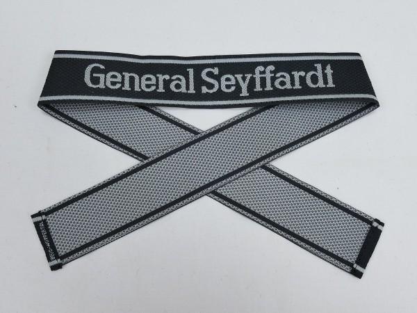 Wehrmacht Elite BEVO Sleeveband SS Regiment GENERAL SEYFFARDT Sleeve Stripe