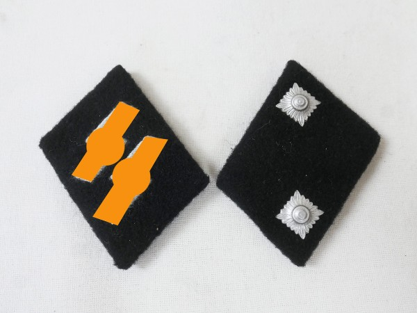 collar mirror weapons elite Oberscharführer