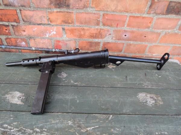 Sten MP MKII Machine Gun Deco Model Movie Weapon