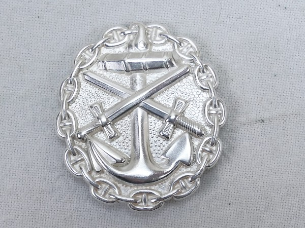Wounded Badge of the Navy 1918 in Silver