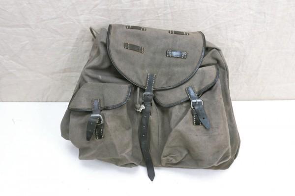 Vintage backpack with shoulder straps like Wehrmacht 1950s