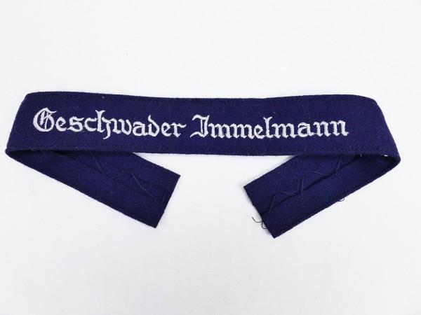 Wehrmacht Luftwaffe sleeve band Geschwader Immelmann sleeve stripes