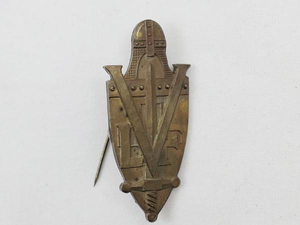 Badge with needle LVF Volunteer Legion France Weapons Elite CHARLEMAGNE