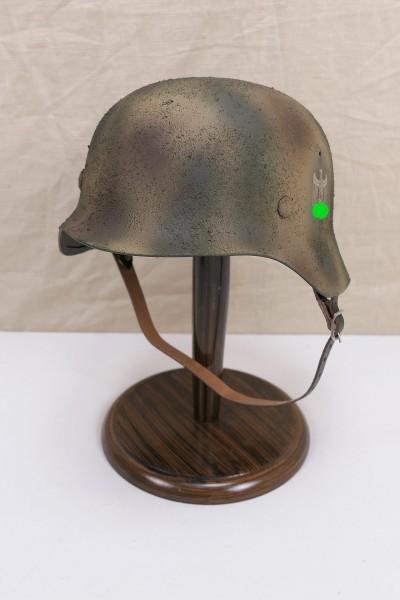 Wehrmacht camouflage tropics south front steel helmet M35 M40 DD Rauhtarn camouflage helmet size 57/58 #27