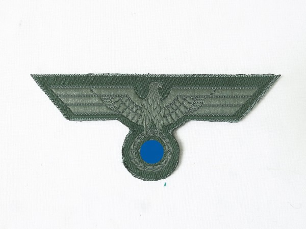 Field blouse uniform breast eagle M40 woven cut out