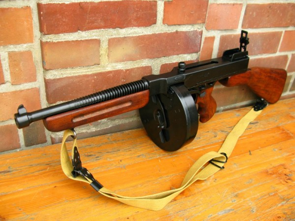 US Army Thompson 1921 Deco Model Movie Weapon