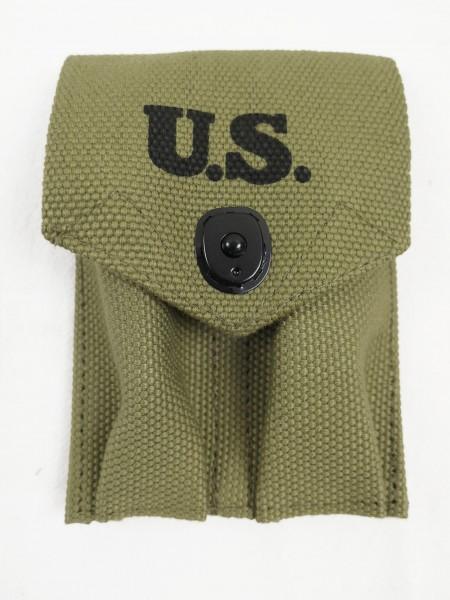 US Army double magazine pouch for Colt 1911 Khaki