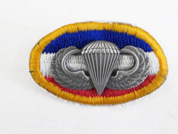 US Parachute Patch badge parachutist badge skydiver badge Wings oval