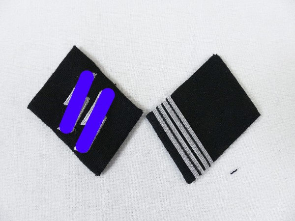 Collar patch Weapons Elite SS Rottenführer Teams