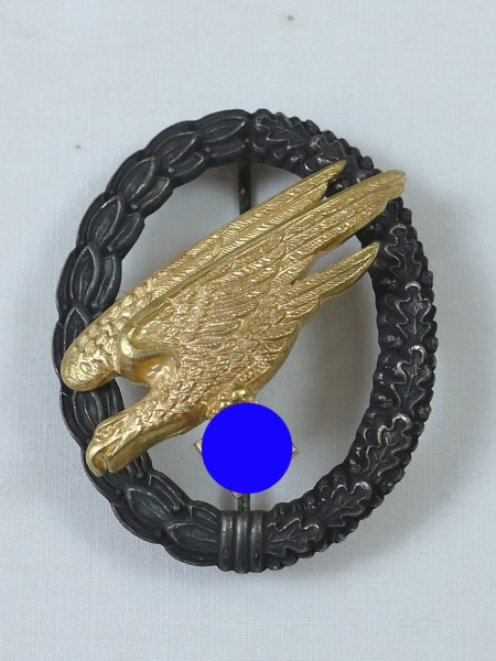 Parachuter badge of the air force Juncker Berlin Top museum production