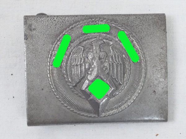 Guide belt buckle HJ Aluminium