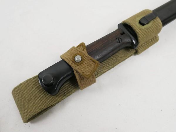 WW2 DAK Belting Shoe K98 Bayonet Tropical Frog Africa Corps