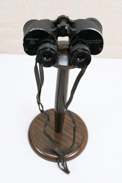 Original US Army WW2 M3 Binocular 6x30 Westinghouse 1943 H.M.R.