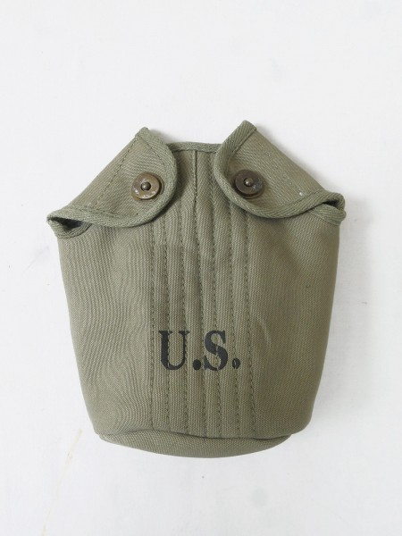 US ARMY WW2 canteen cover field canteen cover Brass (Brab)
