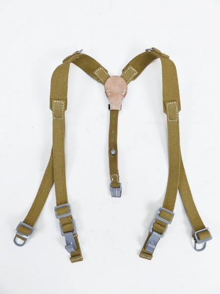 Wehrmacht DAK Afrikakorps Tropen Web Y-Strap Koppeltragegestell
