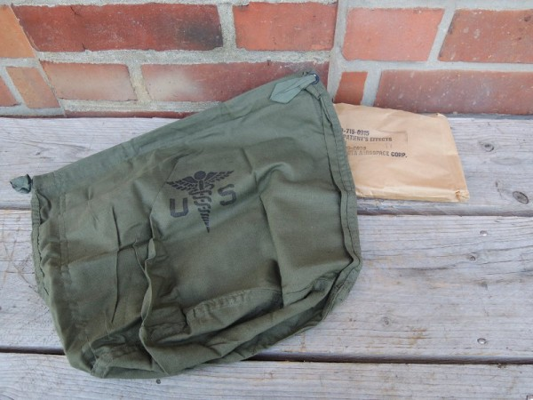 US Army Bag Personnal Effects ovp dated 1966