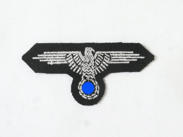 badge elite eagle sleeves silver thread embroidered variant for field blouse service-skirt officer