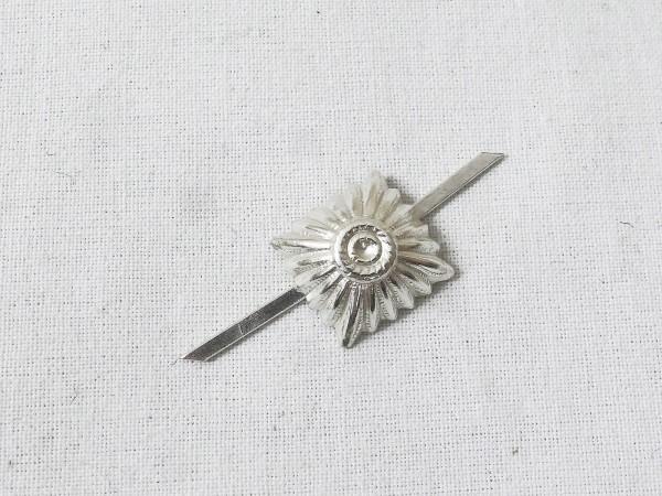 Wehrmacht Shoulderboards Service Stars Stars Pickle Shoulderpad silver