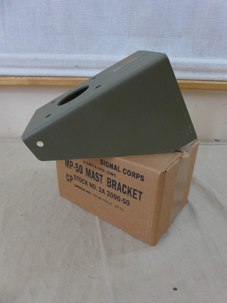 US Mast Bracket Bracket Holder MP-50 Ohio Brass Antenna Base Antenna Radio Jeep