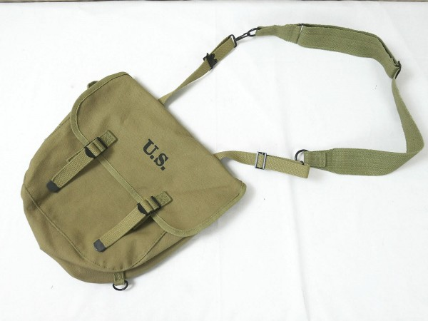 US Army WW2 M-1936 Musette Bag M36 Khaki