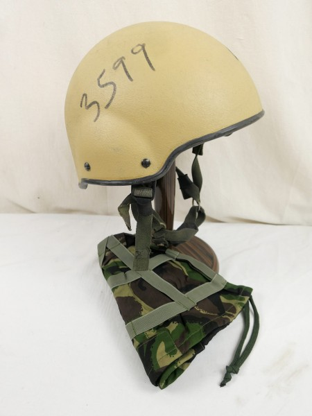 GB British Army combat helmet Helmet Combat ASSAULT MK7 Helmet Medium with cover