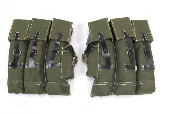 Wehrmacht 1x PAAR MP44 STGW 44 magazine pockets assault rifle machine pistol