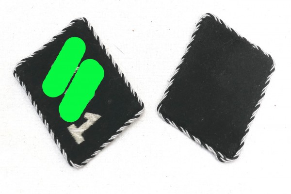 1x pair of SSVT collar patches Standard 1 Germania - Disposition Force