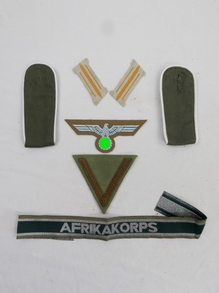set of effects badge weapons elite sleeve eagle + collar mirror for SS-Scharführer