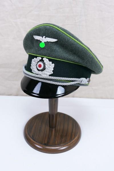 Wehrmacht Gebirgsjäger officers visor cap with effects size 59
