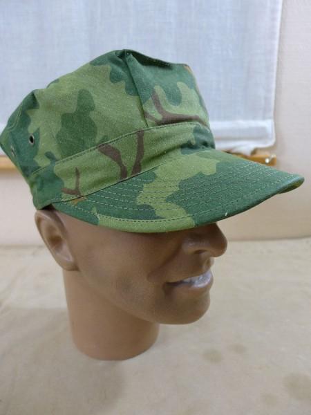 Size 58/59 US Army VIET NAM PATROL CAP Mitchell Leaf Pattern Vietnam Jungle Size 58/59