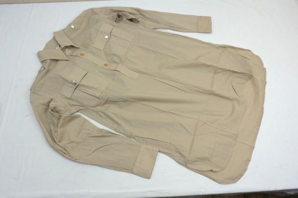 WK2 Wehrmacht Shirt Tropical Shirt Field Shirt DAK Afrika Korps Gr. XL
