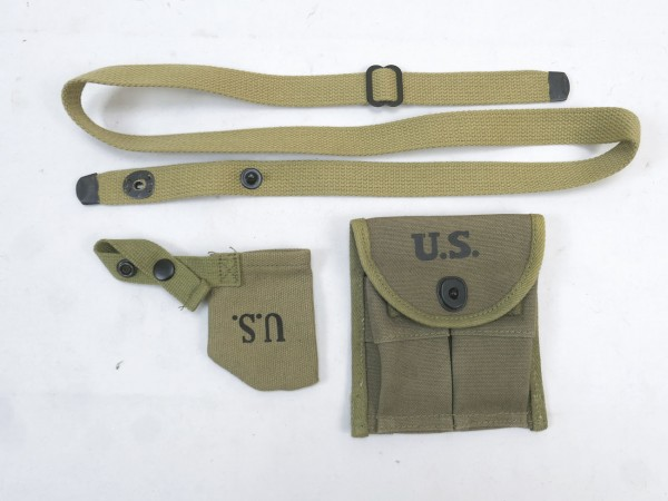US ARMY magazine bag Carbine M1 Rifle Original Depotware 1945