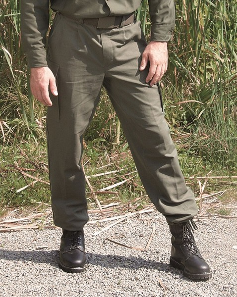 German Armed Forces trousers Moleskin trousers trousers olive original