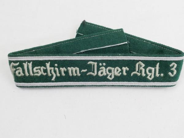 Wehrmacht cuff Paratrooper-Rgt. 3 cuffs Paratrooper teams
