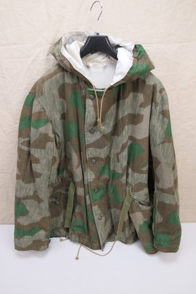 Wehrmacht winter reversible jacket reversible parka camouflage jacket reversible jacket splinter camouflage XL