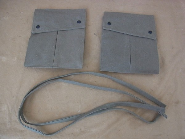 US WW2 Paratrooper Bag Field Trousers / POCKETS POUCHES M43 Rigger Made Trousers