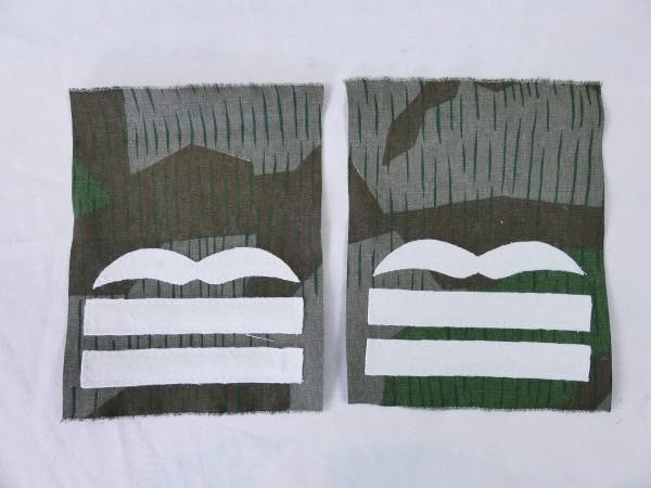 Luftwaffe rank badge MAJOR on camouflage material bone bag paratrooper