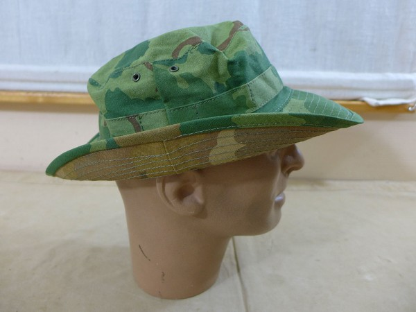 US Army Boonie Bush Hat Mitchell Leaf Pattern Vietnam