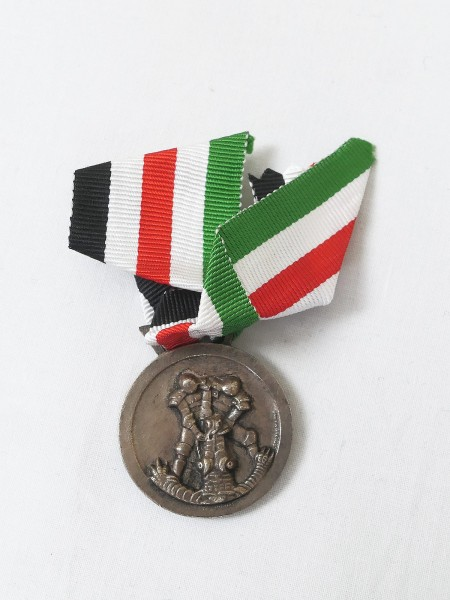 Medal for the Italian-German Campaign in Africa on the ribbon Campaign Medal