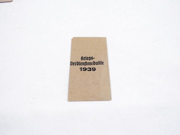 """Award bag for Order """"Kriegsverdienstmedaille 1939"""" (War Merit Medal 1939)"""