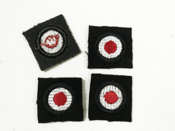 Wehrmacht cockade tanks embroidered for teams