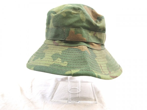 US Army Boonie Bush Hat Mitchell Leaf Pattern Vietnam Sepcial Forces Mike Force Gr. 58