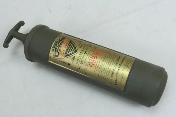 Fire Extinguisher Fire Extinguisher S.O.S. Fire Guard Willys Jeep MB Hotchkiss M 201 Ford GPW