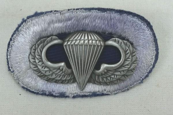 #09 US Airborne Jump Wing oval - Parachute badge Paratrooper Badge Jump Badge