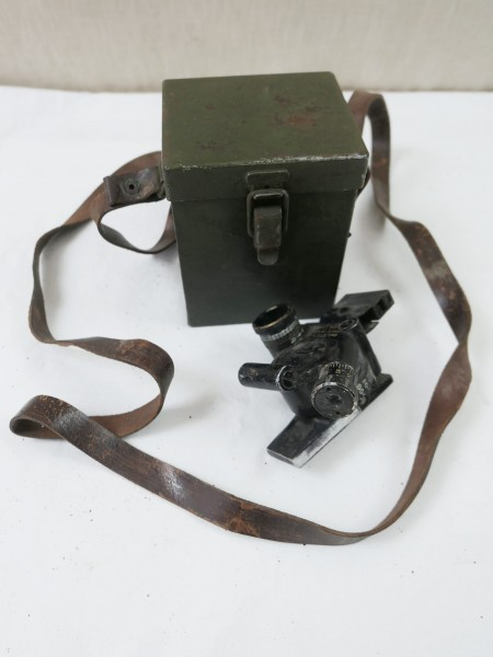 US ARMY WW2 M4 Sight 60mm Mortar & Carrying Case T42 Optic Mortar with Container