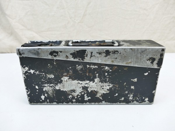 Schnellboot Kriegsmarine MG34 MG42 MG Cartridge case aluminium 1936 Ammunition case belt box #2