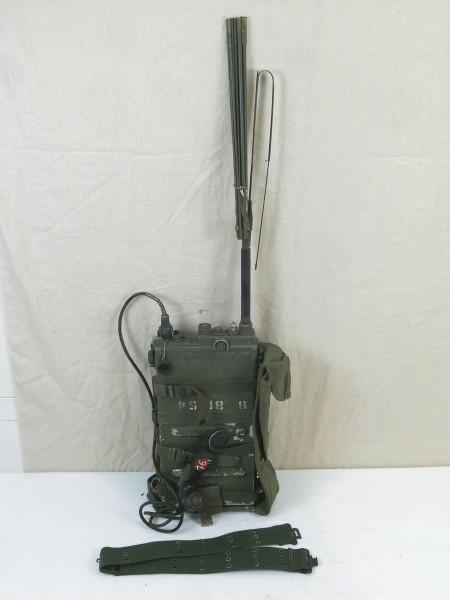 US ARMY RADIO UNIT VIETNAM RADIO RECEIVER PRC-10 + Accessories WILLYS JEEP #3